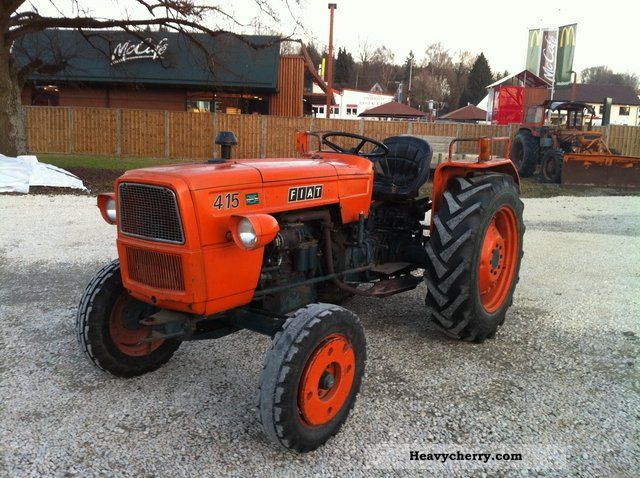 Fiat 415 1966 Agricultural Tractor Photo And Specs