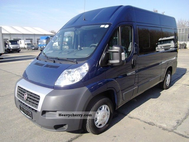 fiat ducato panorama luxury bus 33 l2h2 100 m jet 2009 estate minibus up to 9 seats truck. Black Bedroom Furniture Sets. Home Design Ideas