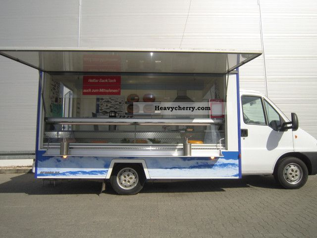 2003 Fiat  Fish cheese dairy selling mobile snack sales Van or truck up to 7.5t Traffic construction photo