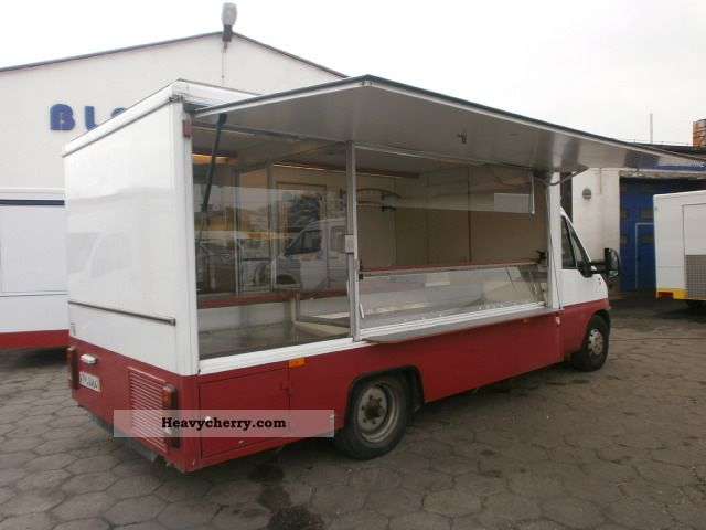 2000 Fiat  Ducato Borco-mockery-Thurs autosklep wędlin super! Van or truck up to 7.5t Traffic construction photo