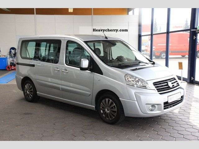 fiat scudo panorama 140 2009 estate minibus up to 9 seats truck photo and specs. Black Bedroom Furniture Sets. Home Design Ideas