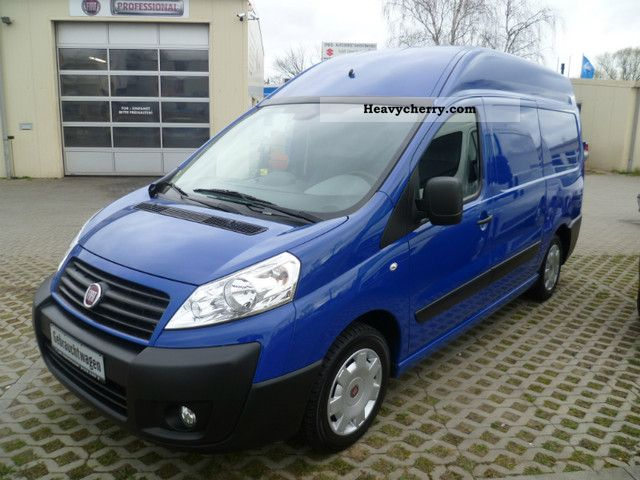 fiat scudo l2h2 12sx 120 2011 box type delivery van high. Black Bedroom Furniture Sets. Home Design Ideas