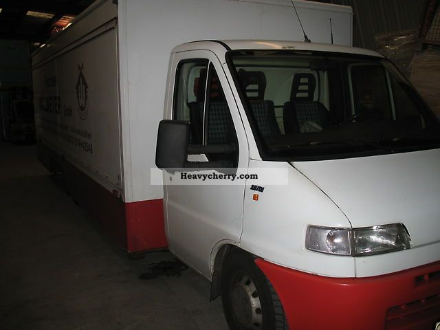 1995 Fiat  Bravo Van or truck up to 7.5t Traffic construction photo