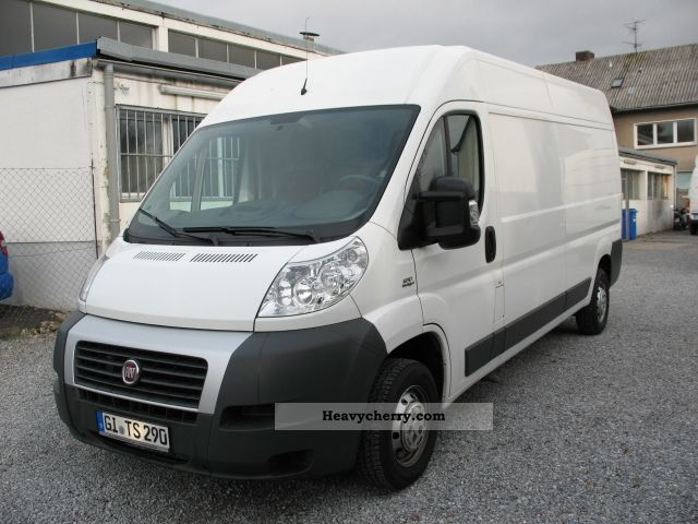 fiat ducato 120 multijet l4h2 climate 2010 box type delivery van high and long photo and specs. Black Bedroom Furniture Sets. Home Design Ideas
