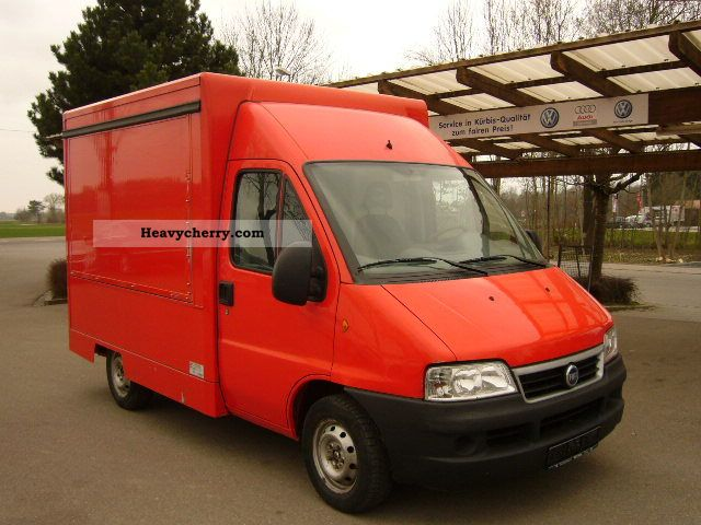 2005 Fiat  Ducato 2.0 JTD selling mobile baker construction Van or truck up to 7.5t Traffic construction photo