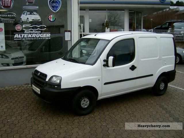 fiat doblo cargo 16v sx bipower 2004 other vans. Black Bedroom Furniture Sets. Home Design Ideas