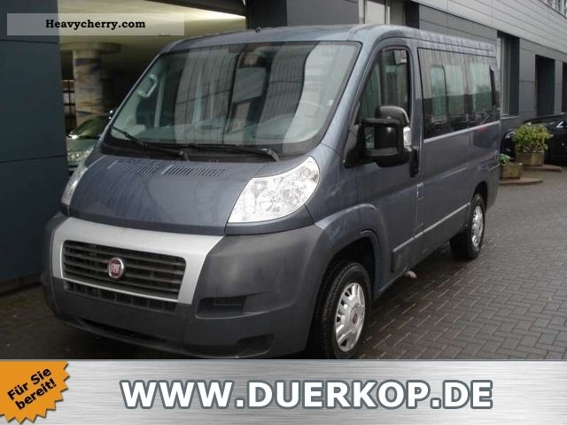 fiat ducato kombi 2 3 jtd panoramic 9 seater air 2009. Black Bedroom Furniture Sets. Home Design Ideas