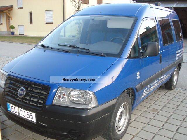 fiat scudo 2005 box type delivery van photo and specs. Black Bedroom Furniture Sets. Home Design Ideas