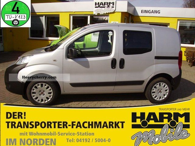 2011 Fiat  Fiorino Combi SX 1.3 MultiJet * air * Van or truck up to 7.5t Estate - minibus up to 9 seats photo