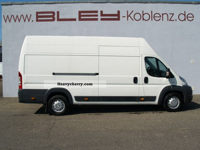 2011 Fiat  Ducato Maxi L5H3 panel van Greater 120Mutlijet Van or truck up to 7.5t Box-type delivery van - high and long photo