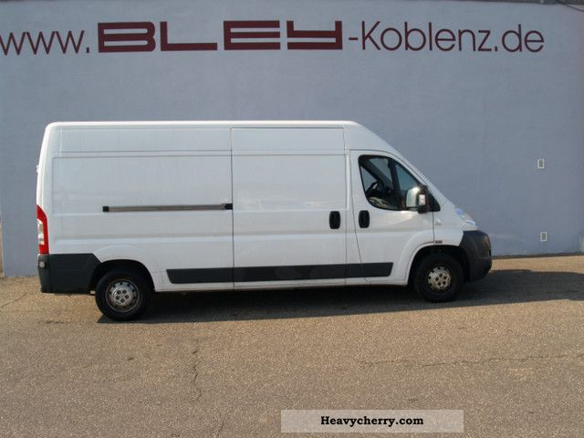 2010 Fiat  GroßraumkastenwagenL4H2 Ducato 120 Multijet Van or truck up to 7.5t Box-type delivery van - high and long photo
