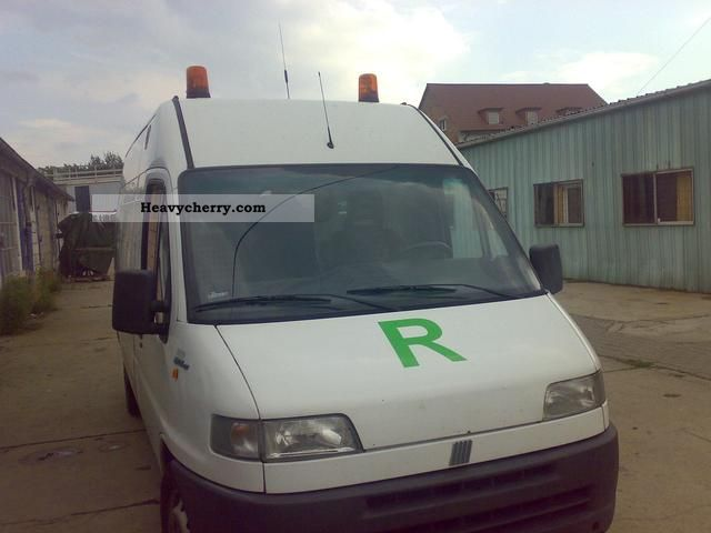 1996 Fiat  Ducato Van or truck up to 7.5t Box-type delivery van - high and long photo