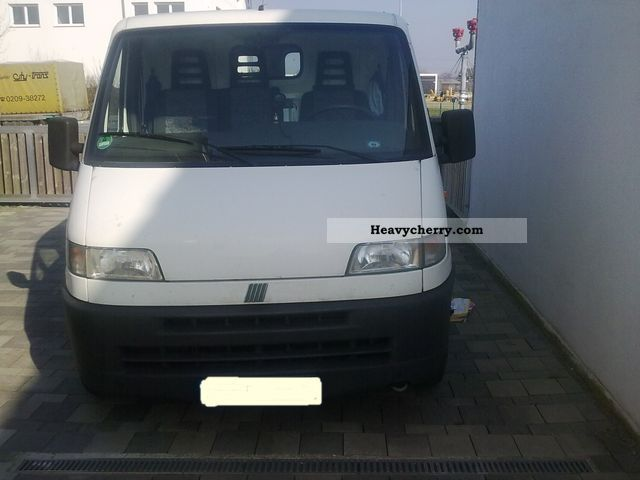 fiat ducato 230 l 1997 box type delivery van photo and specs. Black Bedroom Furniture Sets. Home Design Ideas