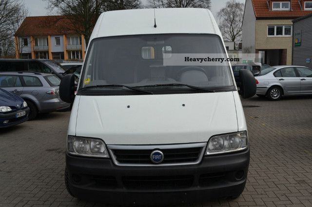 fiat ducato l2h2 2005 box type delivery van high and long photo and specs. Black Bedroom Furniture Sets. Home Design Ideas