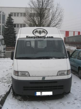 1997 Fiat  Bravo Van or truck up to 7.5t Box-type delivery van - high and long photo