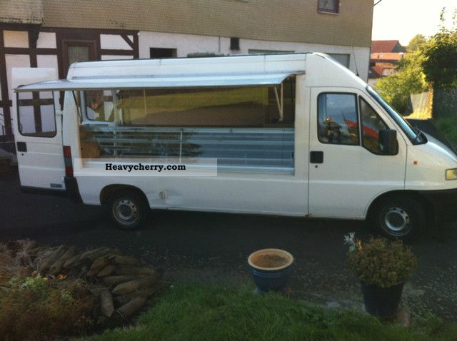 1999 Fiat  Ducato 2.8 DIESEL Van or truck up to 7.5t Traffic construction photo