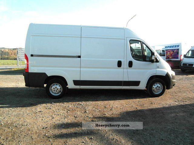 fiat ducato l2h2 33 120 4 long box high 2007 box type delivery van high and long photo and specs. Black Bedroom Furniture Sets. Home Design Ideas