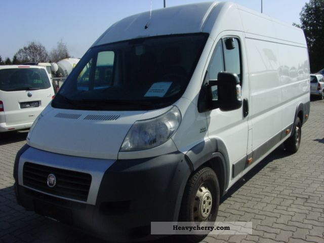 fiat ducato maxi l4h2 2 3 jtd 88kw 2008 box type delivery van long photo and specs. Black Bedroom Furniture Sets. Home Design Ideas