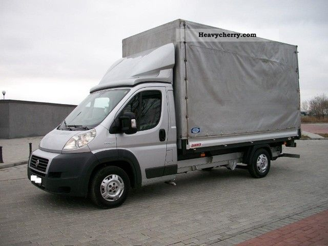 Fiat Ducato Maxi Plan Deka 8 Palet Navi 2008 2008 Stake Body And Tarpaulin Truck Photo And Specs