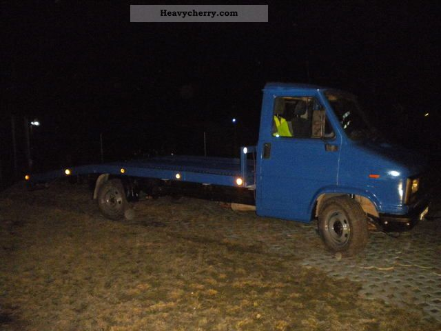 1990 Fiat  Bravo Van or truck up to 7.5t Car carrier photo