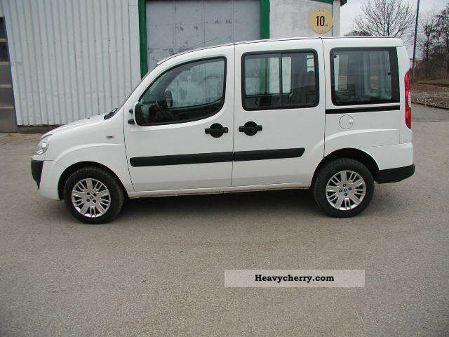 fiat doblo 1 3 multijet 16v dpf air zv 5 speed 2008 estate minibus up to 9 seats truck. Black Bedroom Furniture Sets. Home Design Ideas