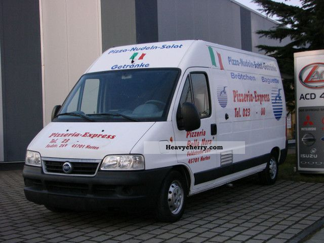 2004 Fiat  Ducato sales counter for PIZZERIA * only * 37.Tkm Van or truck up to 7.5t Traffic construction photo