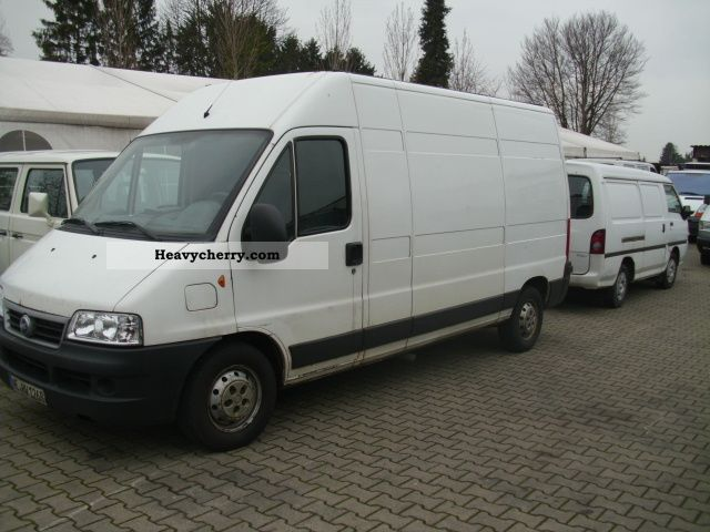 fiat ducato 244 l 2004 box type delivery van photo and specs. Black Bedroom Furniture Sets. Home Design Ideas