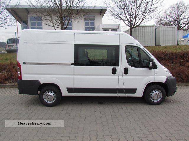 2011 Fiat Ranger crew cab box 30 L2H2 130 MultiJet Van or truck up to