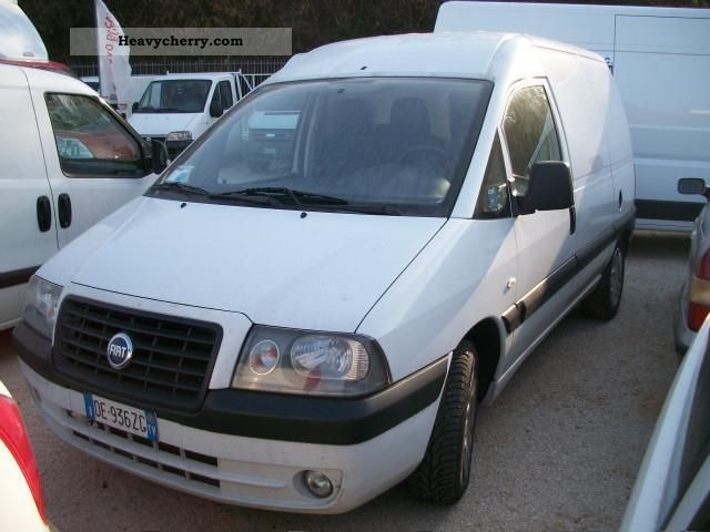 fiat scudo 2 0 jtd 94 cv passo lungo 2005 other vans trucks up to 7 photo and specs. Black Bedroom Furniture Sets. Home Design Ideas
