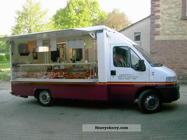 1996 Fiat  Meat and sausage sale Vehicle Van or truck up to 7.5t Traffic construction photo