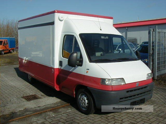 2001 Fiat  Ducato Borco-Höhns bakery selling vehicle Van or truck up to 7.5t Traffic construction photo