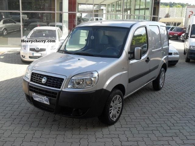 fiat fiat doblo doblo cargo 1 9 mjt lamierato sx 2007 box truck photo and specs. Black Bedroom Furniture Sets. Home Design Ideas