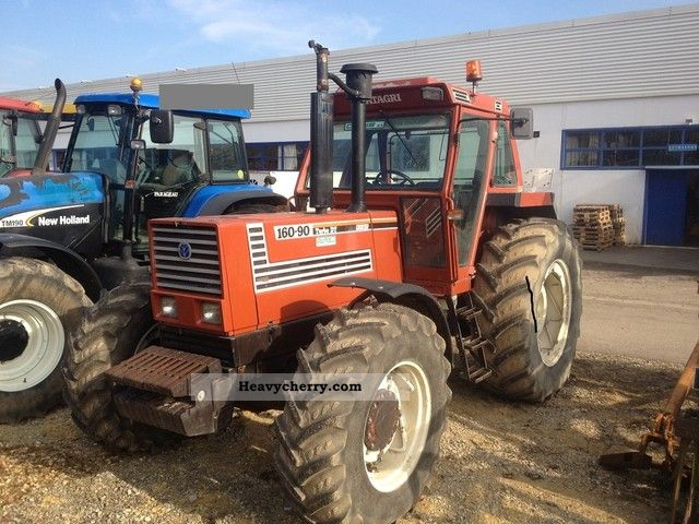 Fiat 160 90 1995 Agricultural Tractor Photo And Specs