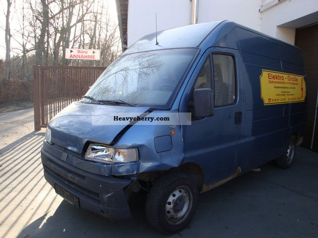 fiat ducato 2 5 diesel 230 l high 1994 box type delivery. Black Bedroom Furniture Sets. Home Design Ideas