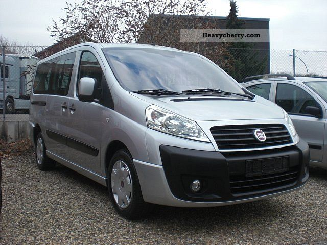 fiat scudo 120 multijet l2h1 panora 2009 box type delivery. Black Bedroom Furniture Sets. Home Design Ideas