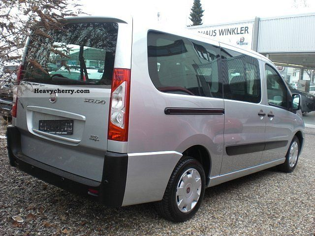 fiat scudo 120 multijet l2h1 panora 2009 box type delivery van photo and specs. Black Bedroom Furniture Sets. Home Design Ideas