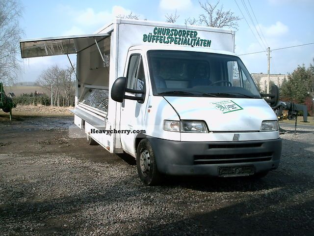 2011 Fiat  Refrigerated counters selling cars SEICO Van or truck up to 7.5t Traffic construction photo