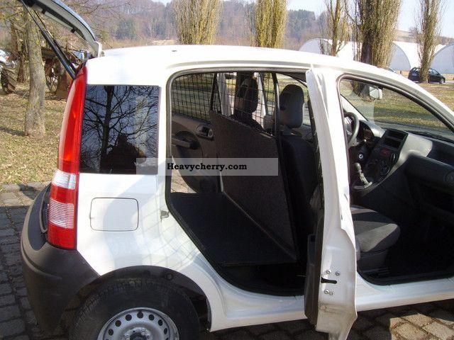 fiat panda 1 3 multijet diesel van climate 2008 box type. Black Bedroom Furniture Sets. Home Design Ideas