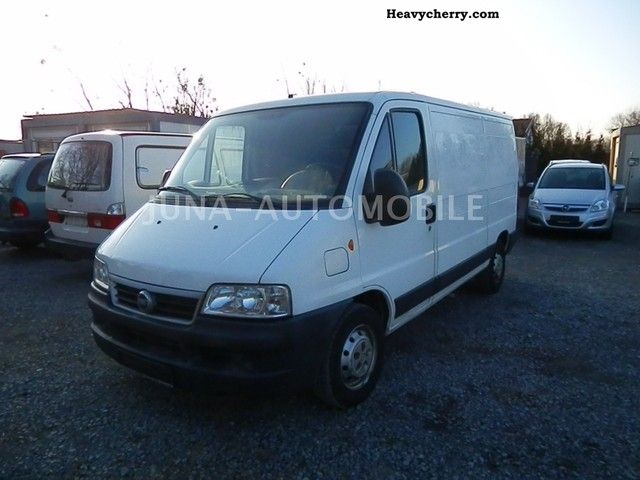 2003 Fiat  Ducato 2.3 JTD HEATER, EURO3 Van or truck up to 7.5t Box-type delivery van photo