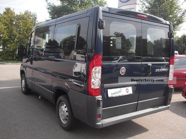 fiat ducato kombi 30 l1h1 100 9 seater multijet 2008. Black Bedroom Furniture Sets. Home Design Ideas