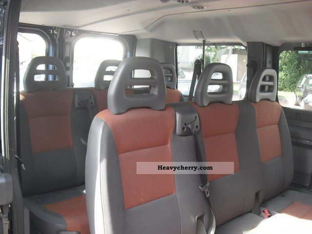 fiat ducato kombi 30 l1h1 100 9 seater multijet 2008 estate minibus up to 9 seats truck photo. Black Bedroom Furniture Sets. Home Design Ideas