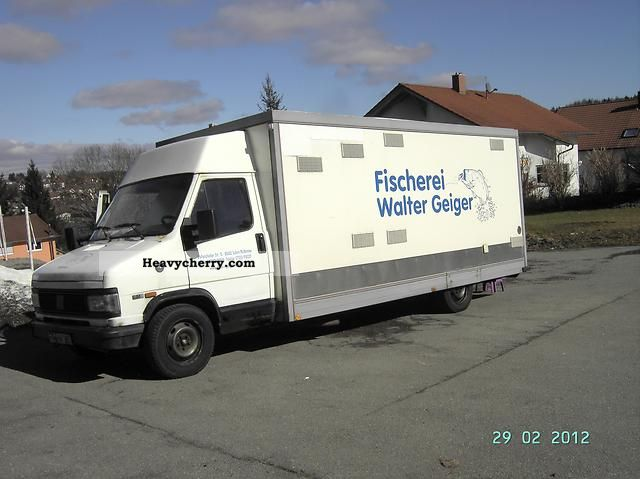 1994 Fiat  Bravo Van or truck up to 7.5t Traffic construction photo