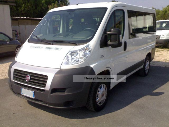 fiat ducato 30 2 3 16v mjt pc panorama tn 2010 estate minibus up to 9 seats truck photo and specs. Black Bedroom Furniture Sets. Home Design Ideas