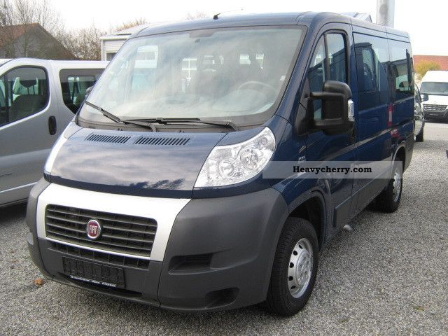 fiat ducato l1h1 100 mj combi 9 seater 2008 estate minibus up to 9 seats truck photo and specs. Black Bedroom Furniture Sets. Home Design Ideas