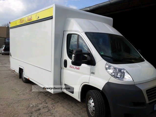 2009 Fiat  Ducato / SEICO-up, cooling Van or truck up to 7.5t Traffic construction photo