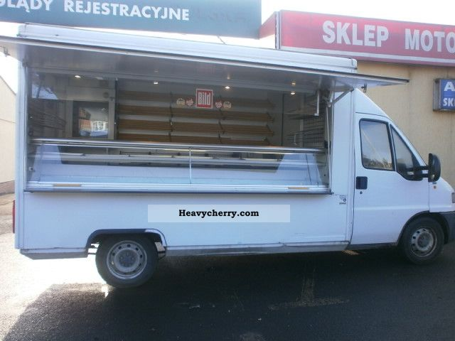 1999 Fiat  Ducato Borco-1999 Pieczywo derision! Bakery ;) Van or truck up to 7.5t Traffic construction photo