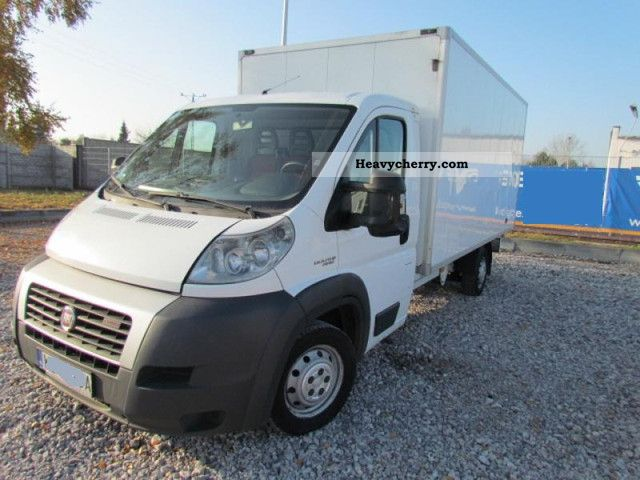 fiat ducato kontener 4 2 m 3 0 158km 2008 box truck photo and specs. Black Bedroom Furniture Sets. Home Design Ideas