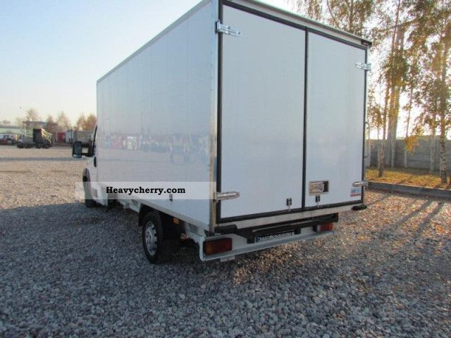 fiat ducato kontener 4 2 m 3 0 158km 2008 box truck photo. Black Bedroom Furniture Sets. Home Design Ideas