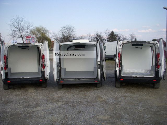 2007 Fiat  SCUDO, EXPERT, JUMPY 1.6 JTD refrigerators and EURO 4 Van or truck up to 7.5t Refrigerator box photo