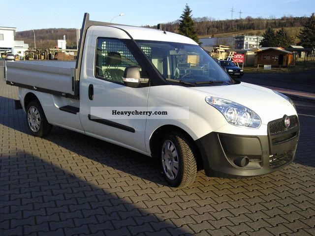 fiat doblo cargo maxi 6 1 pick up work 2011 stake body. Black Bedroom Furniture Sets. Home Design Ideas